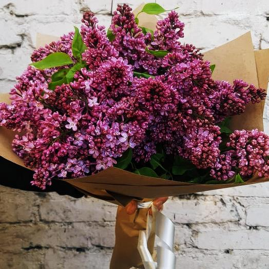 Ароматный букет сирени: букеты цветов на заказ Flowwow