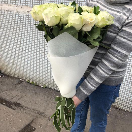 Букет Белая красавица: букеты цветов на заказ Flowwow
