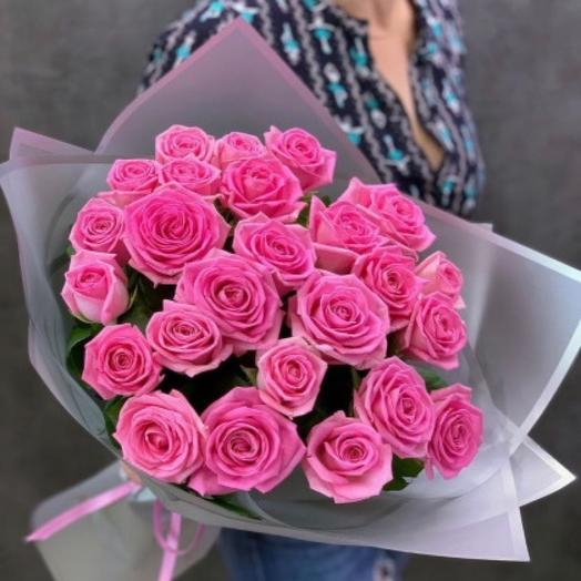Букет из роз сорта Аква