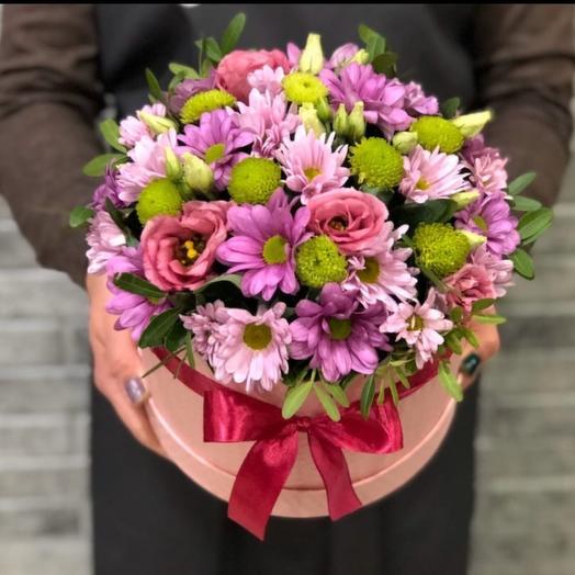 Цветы в коробке 1215