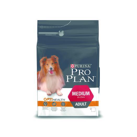 Pro Plan Adult Medium сухой корм с курицей и рисом для взрослых собак средних пород 18 кг