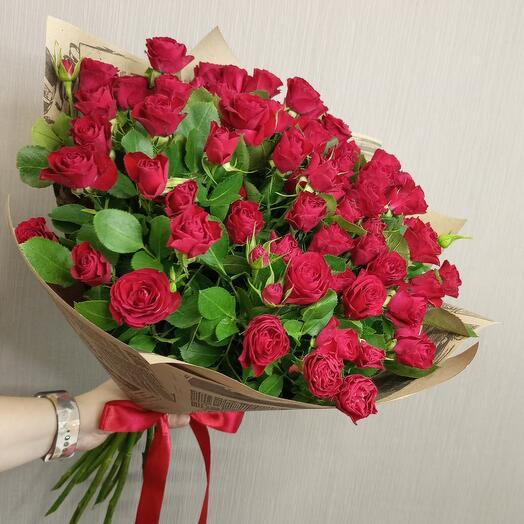 Роза кустовая Вайн
