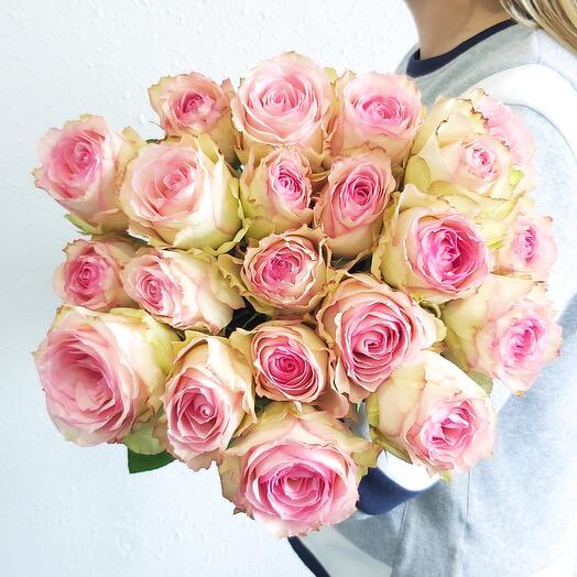Монобукет Роза Esperance (одноголовая) 60 см под ленту - 21 шт