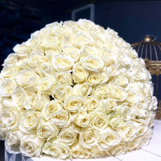 101 Роза премиум 60 см