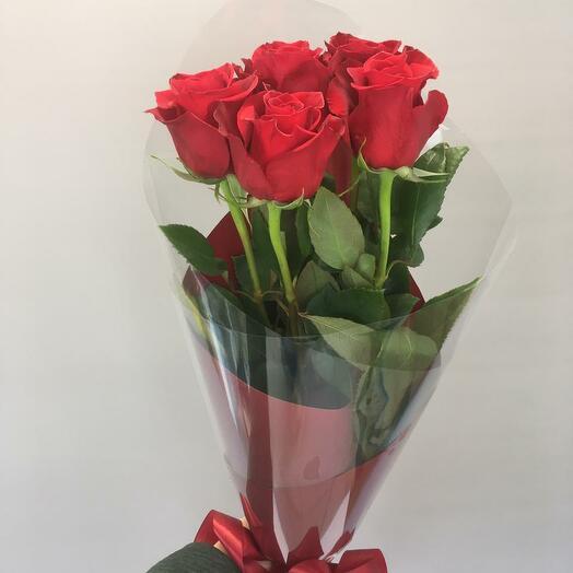 5 Эквадорских роз