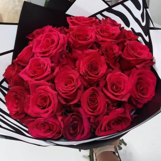 Красная Роза (19 шт)