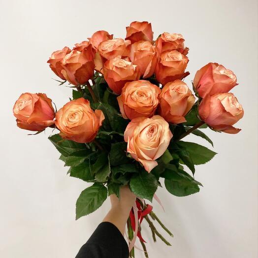 Пионовидные Розы 17 шт