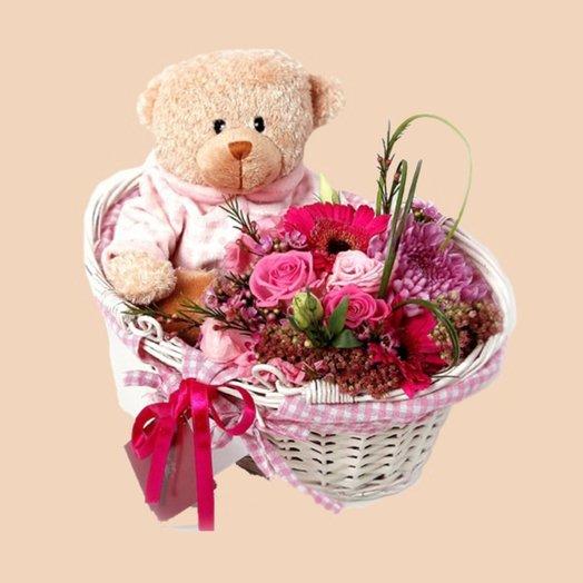 Тишка: букеты цветов на заказ Flowwow