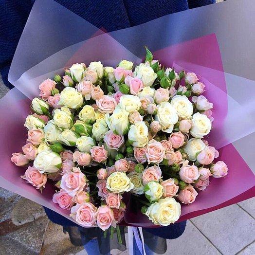 Охапка нежности: букеты цветов на заказ Flowwow