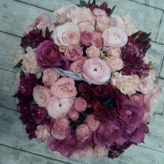 Розовый рай: букеты цветов на заказ Flowwow