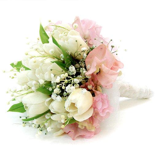Букет невесты «Ландыши»: букеты цветов на заказ Flowwow