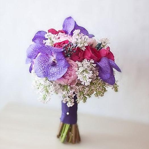 Букет невесты «Королевская свадьба»: букеты цветов на заказ Flowwow