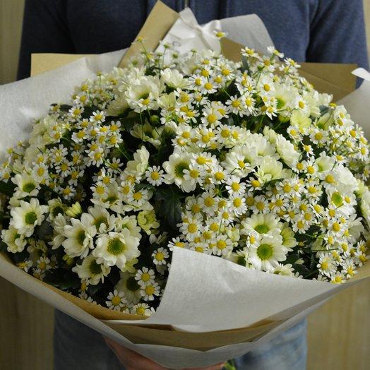 Букет нежных сантини: букеты цветов на заказ Flowwow