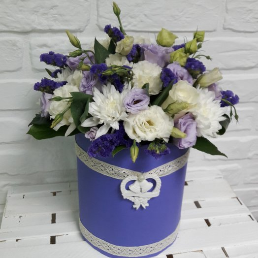 """""""Цвет настроения синий"""": букеты цветов на заказ Flowwow"""