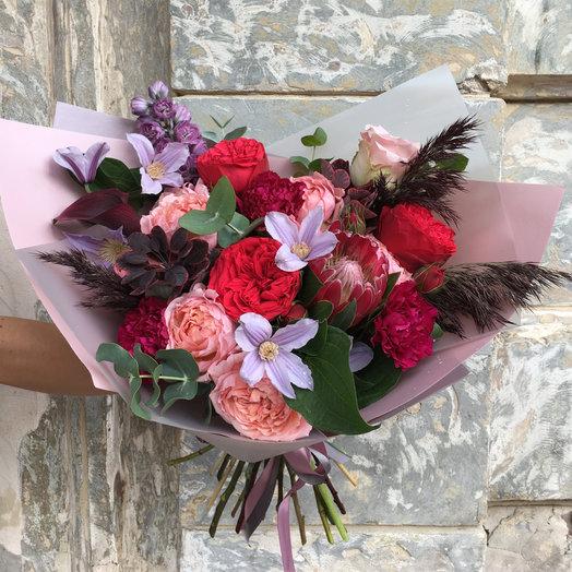 Букет Love: букеты цветов на заказ Flowwow