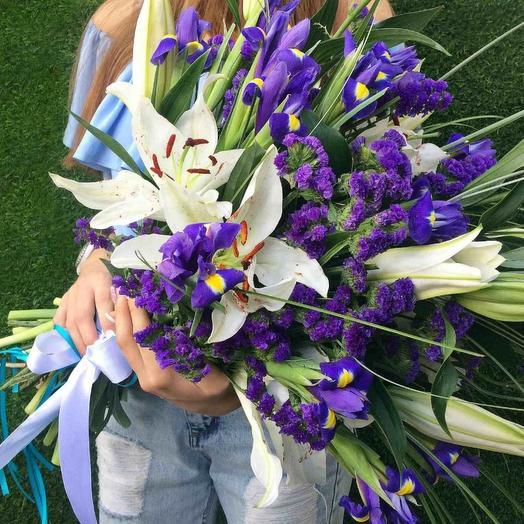 ЛИЛИИ и ИРИСЫ: букеты цветов на заказ Flowwow