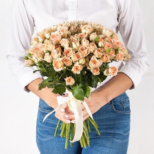 Ванильный: букеты цветов на заказ Flowwow