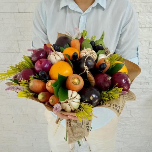 Овощной букет Дары лета: букеты цветов на заказ Flowwow