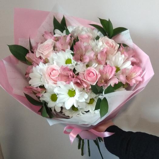"""Букет """"Розовые сны"""": букеты цветов на заказ Flowwow"""