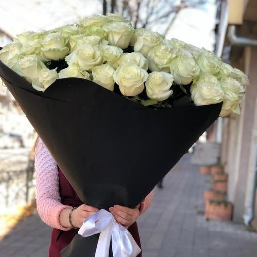 Очаровательная классика: букеты цветов на заказ Flowwow