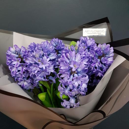 Ароматный гиацинт: букеты цветов на заказ Flowwow