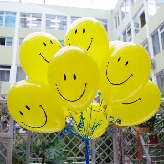 Набор шаров Хорошее настроение: букеты цветов на заказ Flowwow