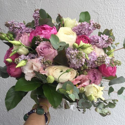 Сиреневое небо: букеты цветов на заказ Flowwow