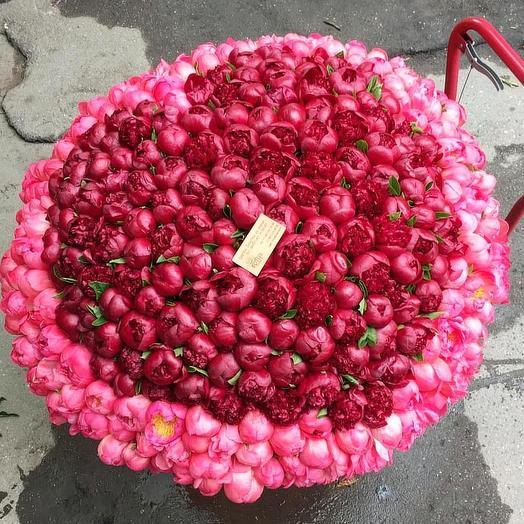 Сердце моё: букеты цветов на заказ Flowwow