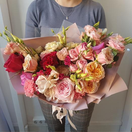 Букет из 9 роз: букеты цветов на заказ Flowwow