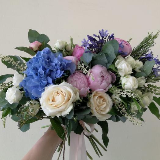 Голубой блик: букеты цветов на заказ Flowwow
