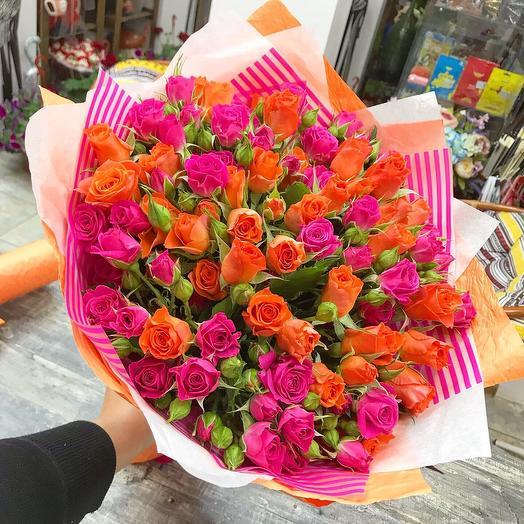 Яркие моменты: букеты цветов на заказ Flowwow