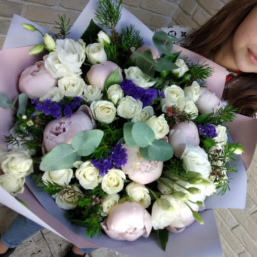 Розовое утро: букеты цветов на заказ Flowwow