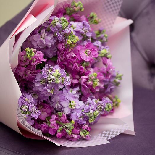 "Букет из ""19 маттиол"": букеты цветов на заказ Flowwow"