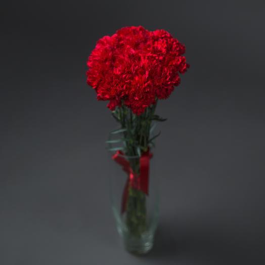 """Букет """"15 Красных Гвоздик"""": букеты цветов на заказ Flowwow"""