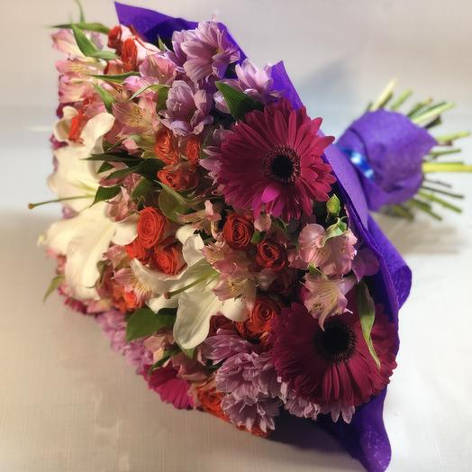 Искреннее признание: букеты цветов на заказ Flowwow