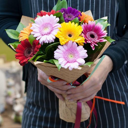 """Букет из гербер """"Трогательный"""": букеты цветов на заказ Flowwow"""