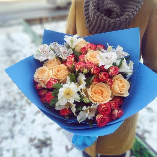 """Букет """"Внимание"""": букеты цветов на заказ Flowwow"""