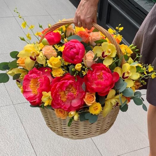 Basket: flowers to order Flowwow