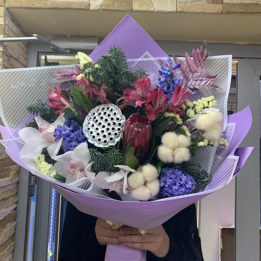 Магия ночи: букеты цветов на заказ Flowwow
