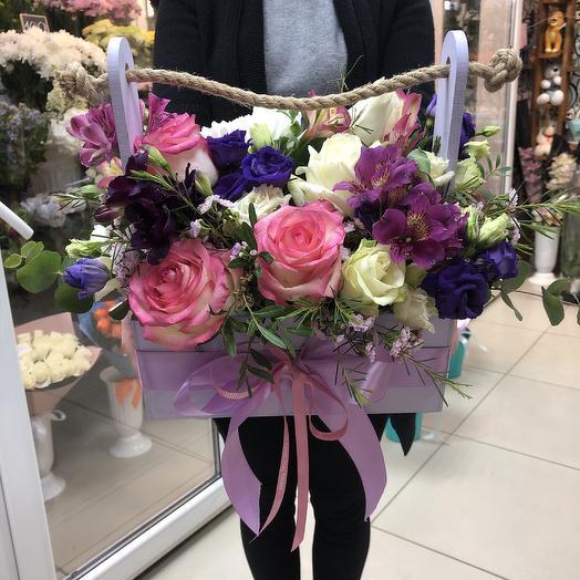 Ящик цветочный