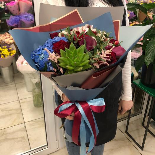 Букет дизайн: букеты цветов на заказ Flowwow