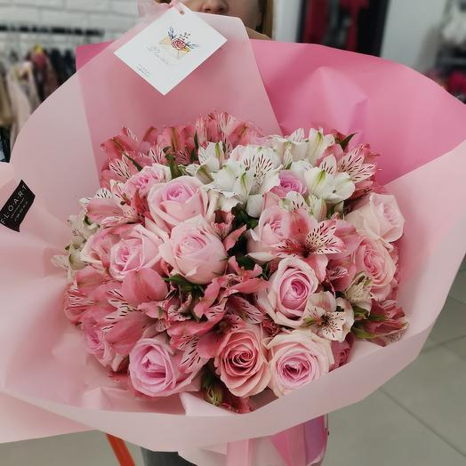 Розовое пралине