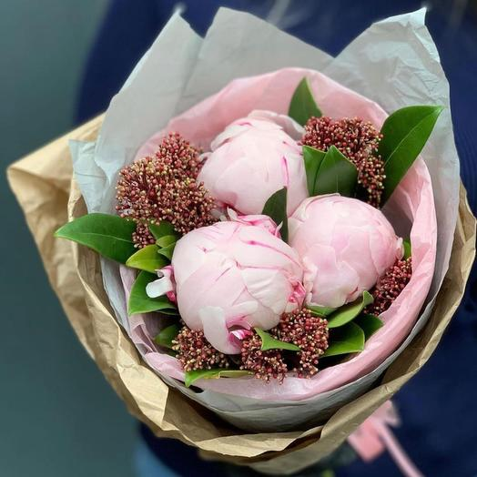 3 шарика мороженного: букеты цветов на заказ Flowwow