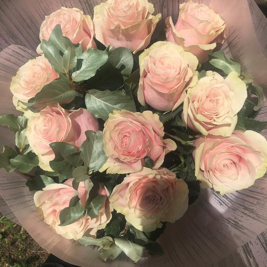 Розовые Розы Пинк Мондиаль