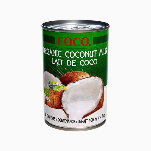 Органическое кокосовое молоко  10-12%  400 мл