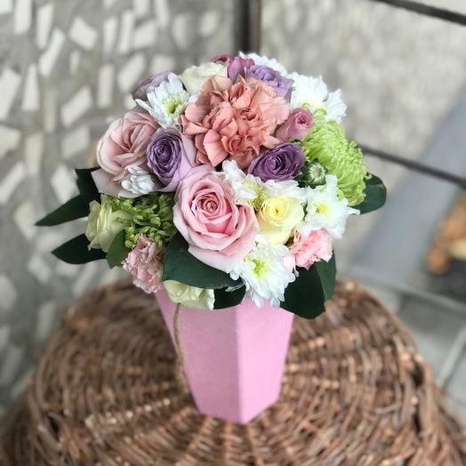 Композиция цветочная «Комплимент»