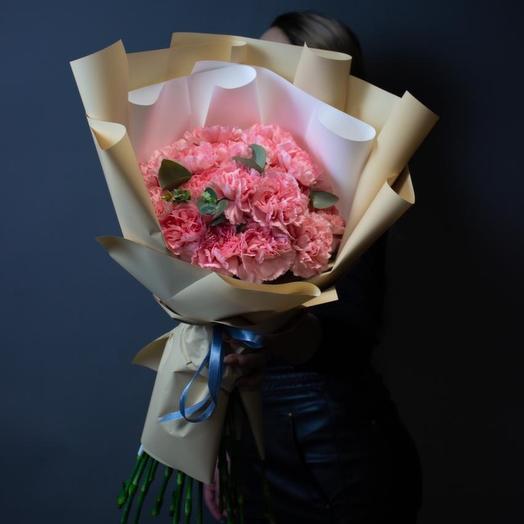 Розовые диантусы