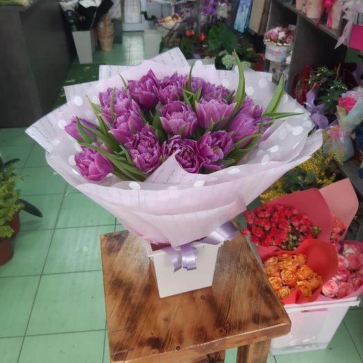 19 tulips per pack