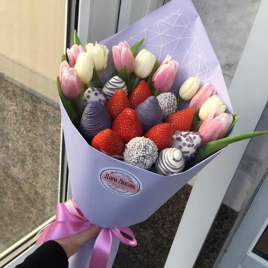 Барокко с тюльпанами