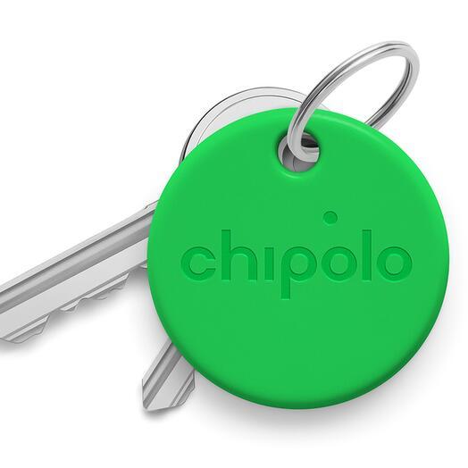 Умный брелок Chipolo ONE со сменной батарейкой (CH-C19M-GN-R), зеленый (Зеленый)